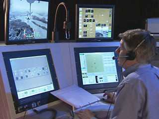 KC-767 Tanker Boom Operator Trainer IOS Station