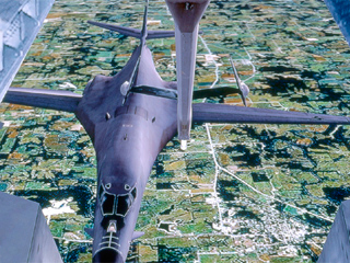KC-10 BOT Refueling B1 with Boom