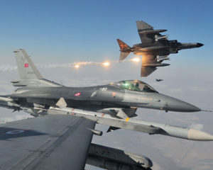 Turkish Air Force F-16s
