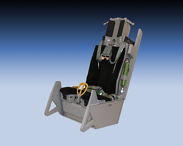 ACME ACES II Dynamic Motion Seats for Turkish Air Force F-16s