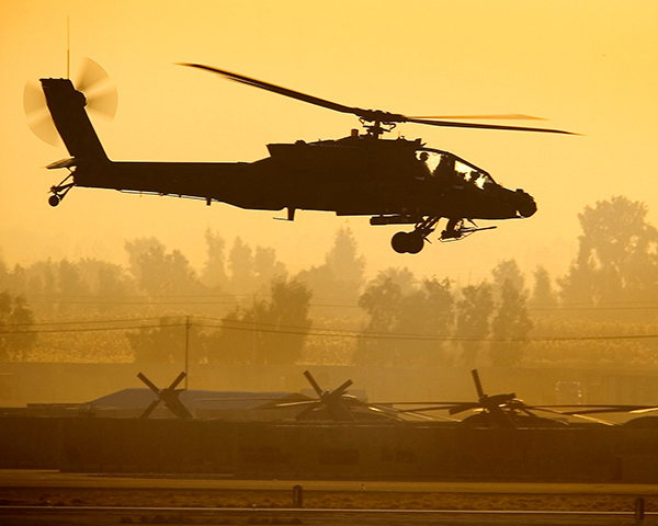 AH-64 Dynamic Motion Seats