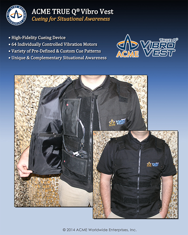 Vibro Vest Cueing System