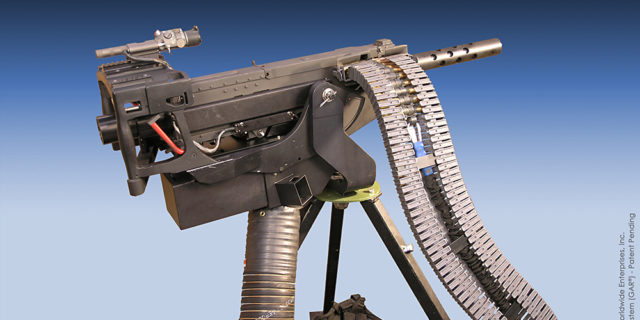 GAU-21 Gun Active Recoil
