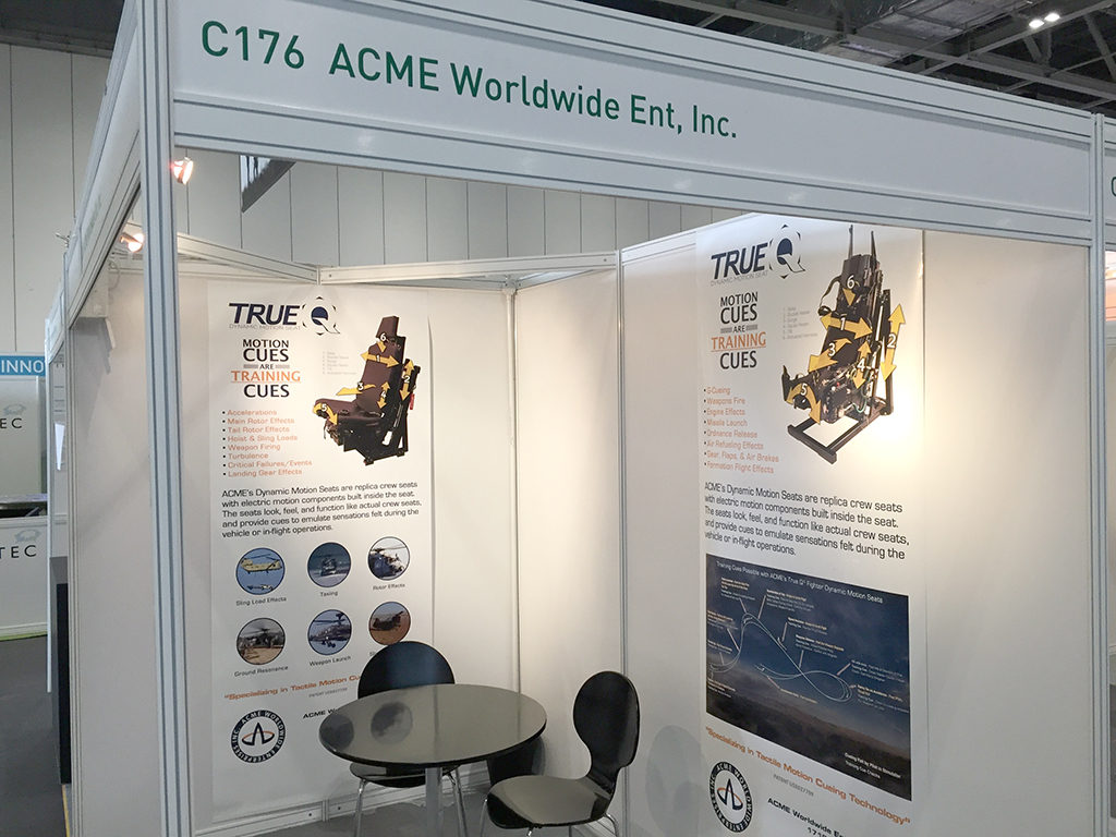ACME Booth at ITEC 2016