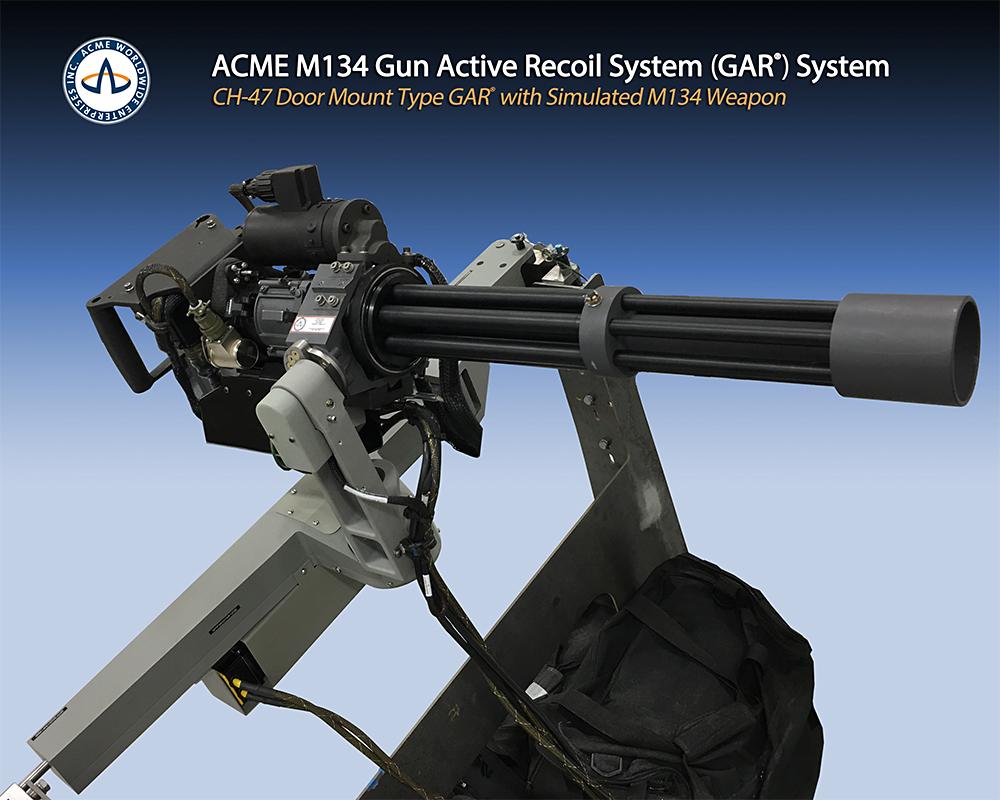 ACME M134 Machine Gun