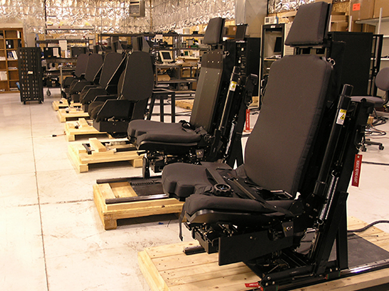 ACME AH-64 and NH-90 DMS Seats in Production