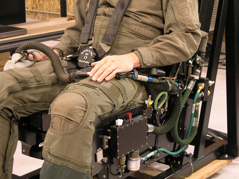 ACME Ejection Dynamic Motion Seat G-Suit