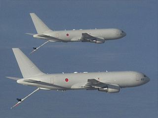 Japanese Boeing KC-767 Tanker for Japan's Air Self-Defense Force (JASDF)