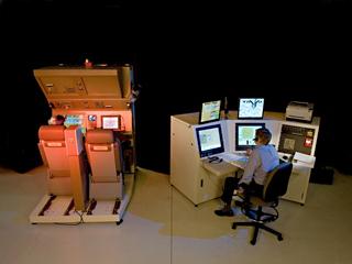 Japanese KC-767 Tanker Boom Operator Trainer - RARO (Left) IOS Station (Right)