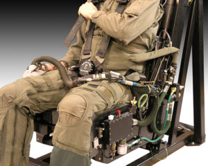 Integrated G-Suit System (This System has Mask Air As Well)