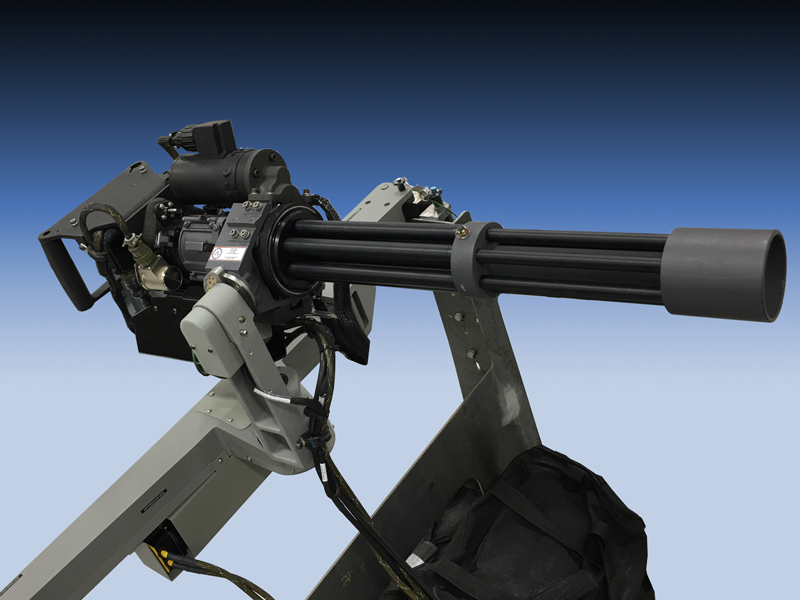 ACME M134 Simulated Weapon Right Side
