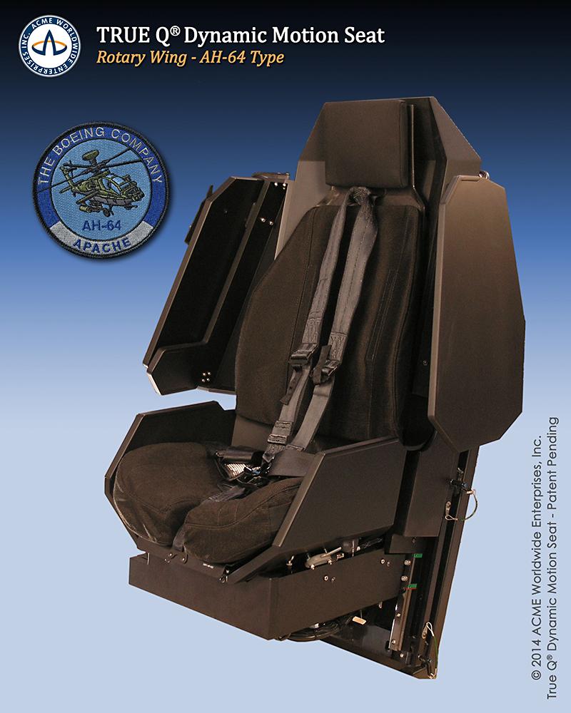 AH-64 Dynamic Motion Seat