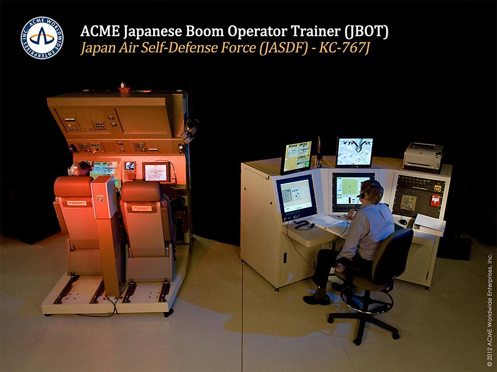 KC-767J Boom Operator Trainer
