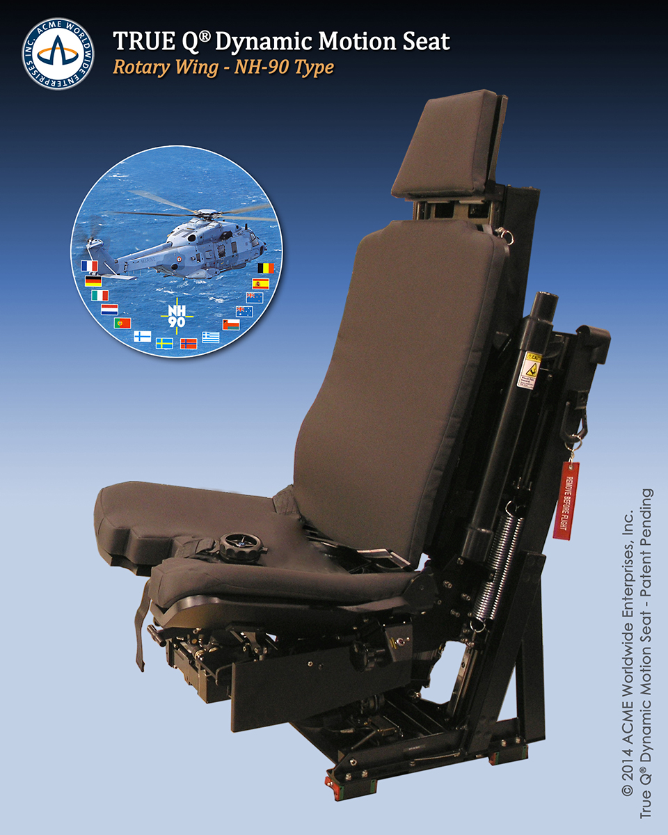 ACME NH-90 Dynamic Motion Seat