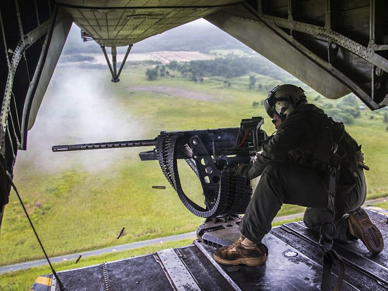 CH-53E Super Stallion GAU-21