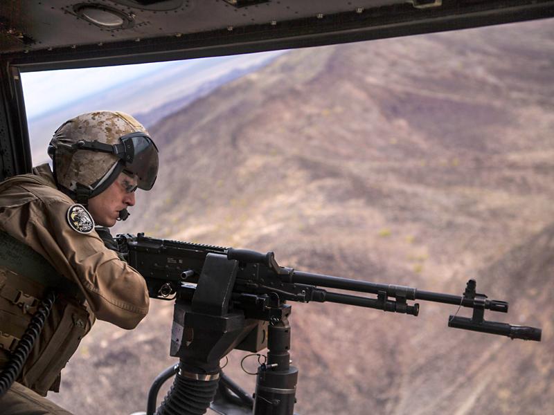 Helicopter Gun M240