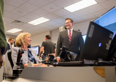 Betsy DeVos US Secretary of Education on DMS at AFA