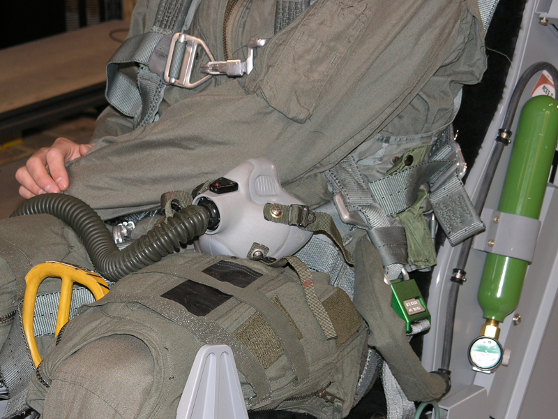 ACME F-16 Dynamic Motion Seat G-Suit