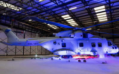Press Release – ACME's Tactile Technologies for Royal Navy Mk4 Helicopter Trainers
